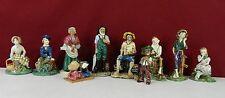 Lot of 10 Gort Bone China Company Figurines