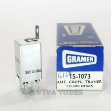 NOS NIB Vintage Gramer 15-1073 Antenna Coupling Transformer 52-300ohms