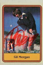 Gil Morgan Autographed Signed 1981 Donruss Golf Card #28