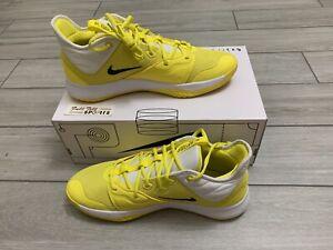 Nike PG 3 TB Promo Basketball Shoes 'Yellow Strike' -CN9513-703 Men's Sz 13 RARE