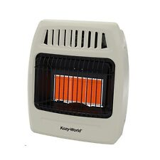 Kozy World 18,000 BTU Plaque Infrared Propane Gas Wall Heater