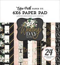 "New Echo Park 6""x6"" Paper Pad Wedding Day"