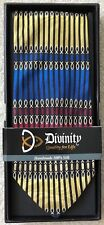 """Divinity Boutique Mens Necktie Tie """"John 14:6"""" 100% Silk, Christian, Ichthus NEW"""