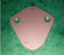 STAINLESS Fuel Pump Blank Plate Land Rover Buick V8 Engine P5B P6 Morgan TVR