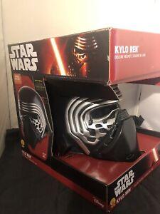 Star Wars Kylo Ren Rubies 2 Piece Cosplay Helmet Rare