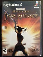 Baldur's Gate Dark Alliance (Playstation 2 PS2 2001) Black Label NEW SEALED