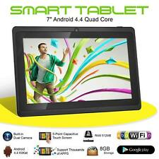 """7"""" Kids Android 4.4 Tablet 8GB PC Quad Core Wifi Dual Camera Child Children Gift"""