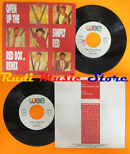 LP 45 7'' SIMPLY RED Open the red box Look at you now 1986 italy WEA cd mc dvd*