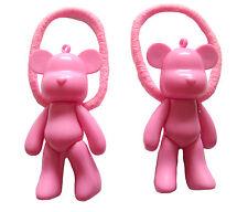 Pink Bear CAPELLI Pompon BAND KAWAII EMO PUNK Carino Giappone