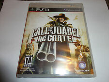 Call of Juarez: The Cartel  (Sony Playstation 3, 2011) NEW PS3