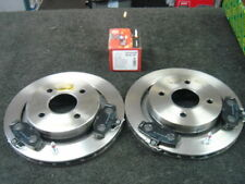 TVR CHIMAERA GRIFFITH REAR VENTED 273MM BRAKE DISCS X 2