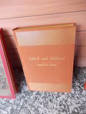 Schloß und Schlüssel, ein Roman von Minna Falk, aus dem Verlag August Scherl Gmb