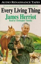 Every Living Thing by James Herriot Book on Cassette 6 Hours
