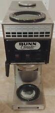 Bunn O Matic 2 Burner Commercial Coffee Maker Model SLS-15