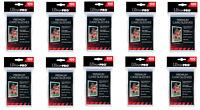 (1000) Ultra Pro Premium Platinum Trading Card Sleeves Heavy Gauge 10 Packs