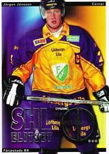 2002-03 Swedish Elitset Dynamic Duos #3 Jorgen Jonsson, Par Backer