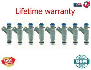X8  Bosch OEM Fuel Injectors Mercedes-Benz SL500 99-02 3.2 4.3 5.0 0280155744