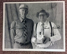 Bartles & Jaymes Vintage B&W Autographed PROMOTIONAL Photo Perfect for Mancave