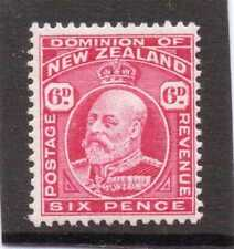 Mint Hinged Royalty Single New Zealand Stamps
