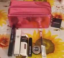 """7-PC Bare Minerals """"EYECOLOR WARDROBE COLLECTION""""-Beautiful  Eye Set w/Bag-New!"""