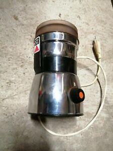 AR1 Moulin à café electrique SEB type 108N à minuterie Vintage  fonctionne