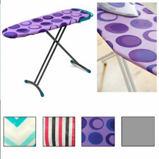 1 x Standard Ironing Board Cover Pad Scorch Heat Resistant Silicone Coated 54""