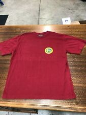 ABECROMBIE & FITCH - BRAND NEW RED SHORT-SLEEVE T-SHIRT- SIZE ADULT MEDIUM