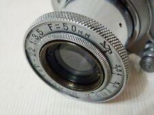 Lens INDUSTAR-22 collapsible f3.5/50 Soviet ELMAR Copy RF Leica Zorki M39