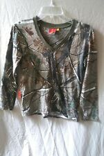 SHE Outdoor Apparel Long Sleeve Camouflage/Camo Hunting Shirt Top Women's Small