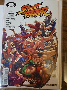 Street Fighter #1 VF 2003 Image Comics Cover B
