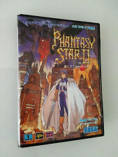 Phantasy Star II Sega Mega Drive Genesis Brand New Beautiful Condition Rare RPG!