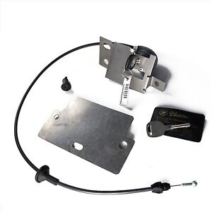 New OEM XLR 07 XLR Rear Compartment Trunk Lock Cylinder Kit 25810747 25799267