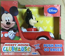 Disney- Mickey Mouse Clubhouse Push and Go Racer BNIB Free Shipping