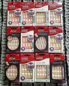 Kiss Nails (Multiple Styles) (No Glue Inc.) NEW Stock Updated