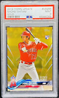 Shohei Ohtani 2018 Topps Update GOLD #285 Rookie RC /2018 Mint Low Pop PSA 9
