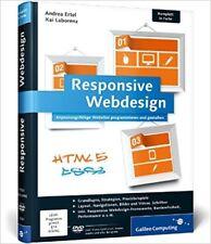 Responsive Webdesign von Andrea Ertel und Kai Laborenz (2013, Gebunden)