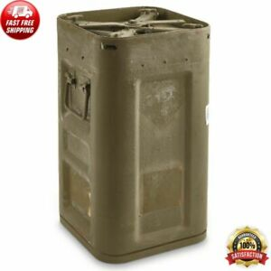 Locking MOD Military Container Waterproof Steel US Surplus Collectible Storage