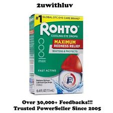Rohto Maximum Redness Relief 13 ml Cooling Eye Drops