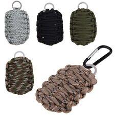 Paracord Survival Kit Selbsthilfe Außen Notfall Set FishingBag Armeegrün
