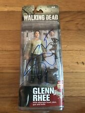 The Walking Dead Glenn Rhee Mcfarlane Collectible Toy Signed By Steven Yeun!