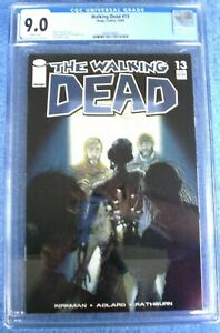 Walking Dead #13 comic CGC 9.0