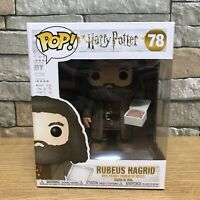 "Rubeus Hagrid Funko POP! Vinyl Toy Figure Harry Potter 6"" with Cake - #78 - NEW"