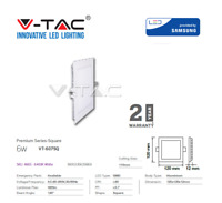LED Panel Light Square / Round White 6W 420Lm by V-TAC