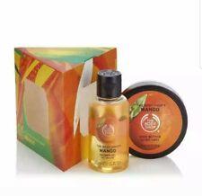 The Body Shop Mango Treats Bath & Body Gift Set Xmas Gift