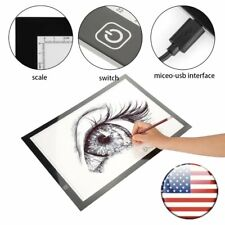 A4 LED Light Graphic Tablet for Drawing Board Panel Stencil Tracing Pad Luminous