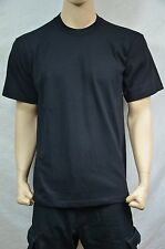 d5cfc546b 3 Pro5 Super Heavy Weight T-shirt Black Tee Plain Blank Cotton XLT Tall 3pc