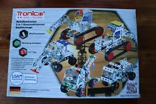 Metallbaukasten von Tronico __ 5 in 1  Konstruktionsset * Baufahrzeuge * wie neu