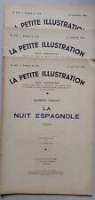la petite illustration : la nuit espagnole illustration SIMONT 1934 3 tomes