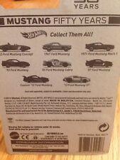 2014 Hot Wheels Mustang 50 Years 1962 1967 1971 1992 2003 2007  2012 2013 NIP