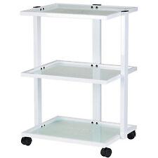 Three Tier Glass Tray Treatment Esthetician Beauty Trolley Cart - USA-1040